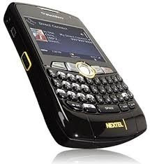blackberry nextel curve negra black usado anda plan bis
