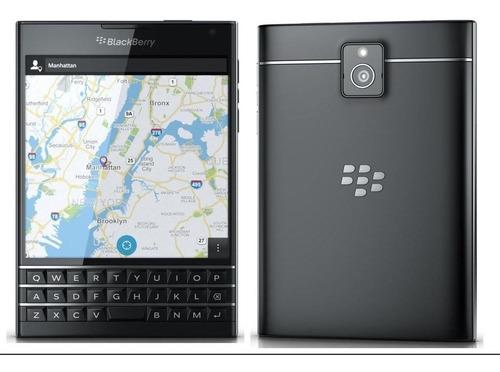 blackberry passport 3gb 32gb negro desbloqueado nuevo