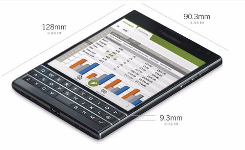 blackberry passport: celular