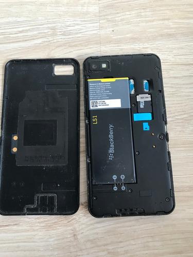 blackberry z10 liberado celular, 16gb, negro