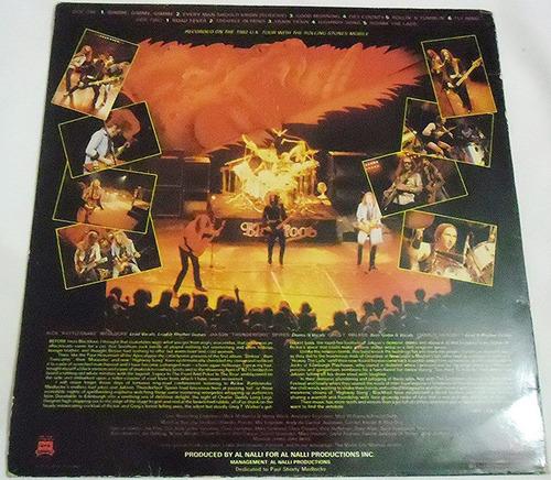 blackfoot - highway song live - lp importado 1982