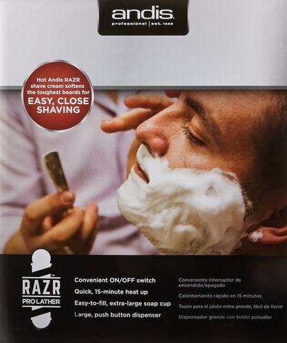 blackfridey creme de barbear p máq de espuma  andis
