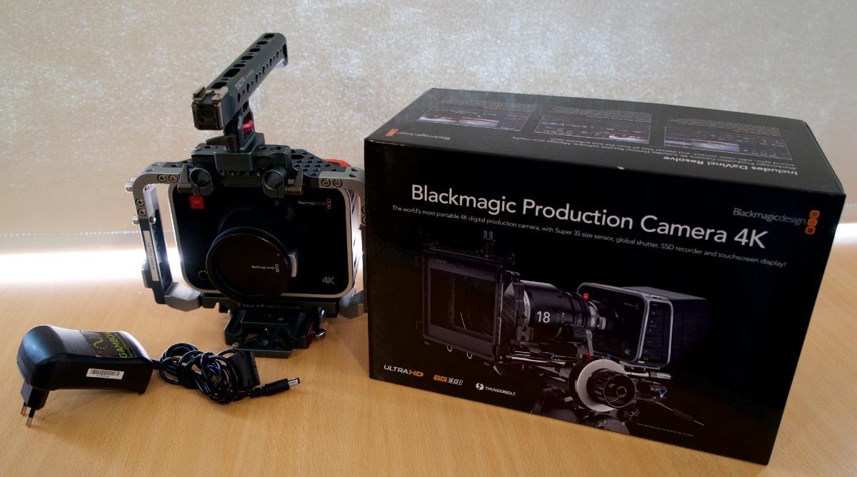 Blackmagic 4k - Combo 2 Cámaras Ef Mount Y Cage Tilta  - $ 150 000,00