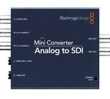 blackmagic convmaas2 analogico a 3g hdsdi mini convertidorby
