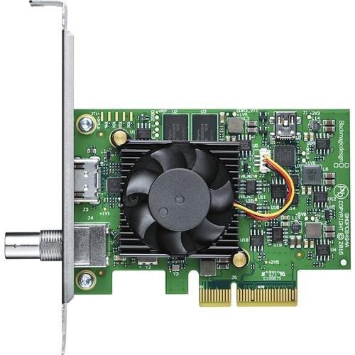 blackmagic design decklink mini monitor 4 k | 6 gsdi pcie ta