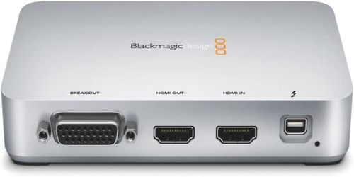 blackmagic design intensity extreme captura de audio e video