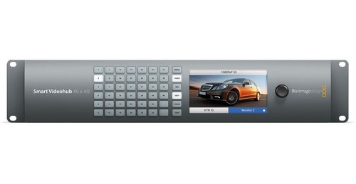 blackmagic design smart videohub 40 x 40 6gsdi
