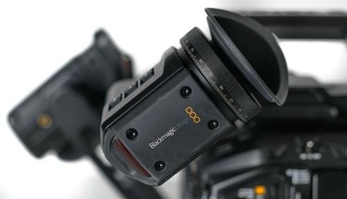 blackmagic design ursa mini pro 4.6k with evf, pl, ef mount