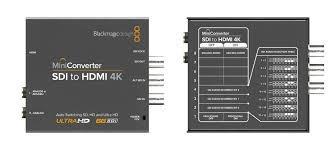 blackmagic mini converter sdi to hdmi **4k**