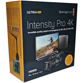 Blackmagic Placa De Captura Intensity Pro 4k