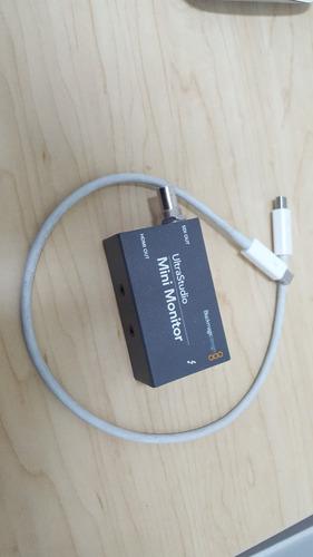 blackmagic ultrastudio monitor