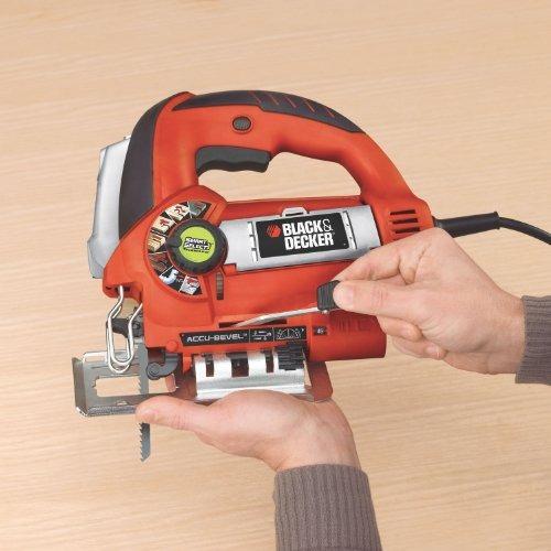 blackmas decker js670v linefinder orbital jig saw con tecnol