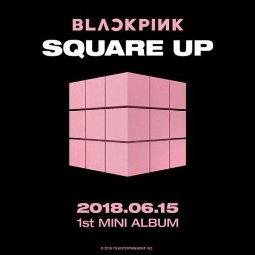 blackpink square up 1st mini álbum entrega inmediata