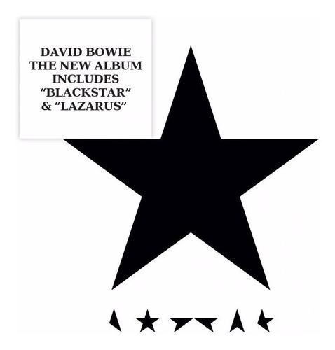 blackstar / david bowie / disco cd con 7 canciones