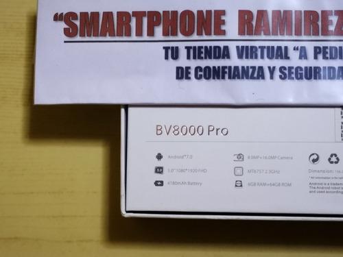 blackview bv8000 pro 4glte 6gb ram 64gb nuevo a pedido