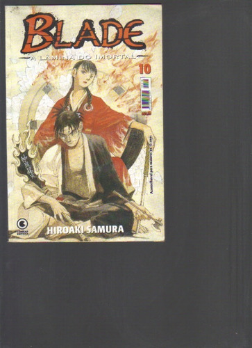 blade a lâmina do imortal nº 10 - hiroaki samura - conrad ed