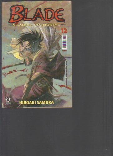 blade a lâmina do imortal nº 12 - hiroaki samura - conrad ed