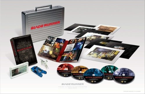 blade runner 5 discos ultimate collector's edition blu-ray