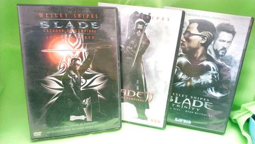 blade trilogía dvd originales