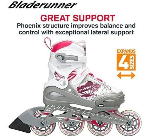 bladerunner de rollerblade phoenix boys fitness ajustable pa