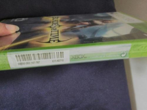 blades of time xbox 360 nuevo y sellado