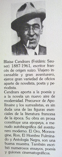 blaise cendrars - hollywood, la meca del cine. parsifal 1989