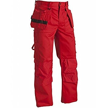 Blaklader 153018605600C56 Trousers Size 40//32 Red