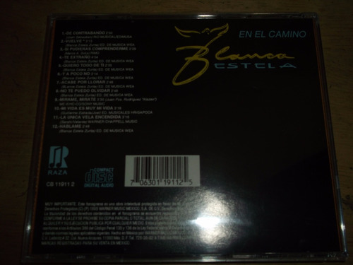 blanca estela en el camino cd impecable raza 1995