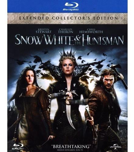 blanca nieves y la leyenda del cazador pelicula blu-ray