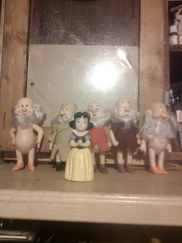 blanca  nieves  y  los  siete  enanos   disney  vintage