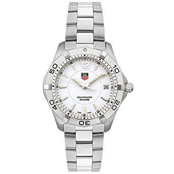 blanco aquaracer reloj tag heuer waf1111.ba0801 de los hom