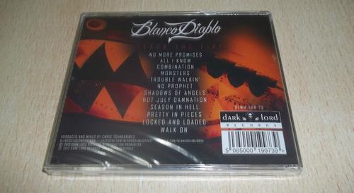 blanco diablo - attack the fire (2012) stoner rock importado