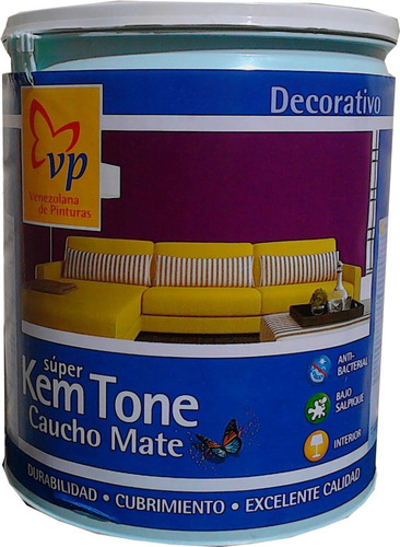 blanco intenso mate ** a ** galon pintura vp