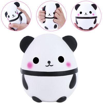 Blandita Enorme Panda Lindo Muñecas Kawaii Crema 291990 En