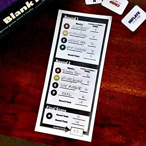 blank it - a blanking new party game