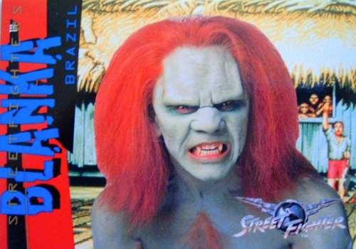 blanka / street fighter movie / anime / tarjetas y cards