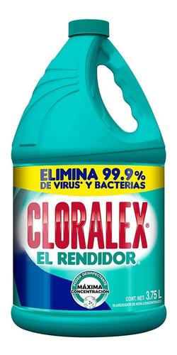 blanqueador cloralex el rendidor 3.7 lt