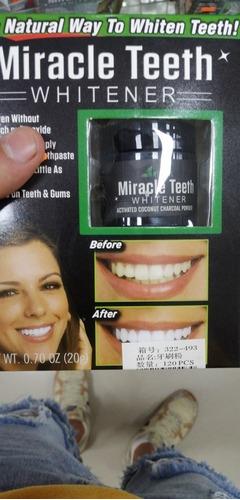 blanqueador de dientes!
