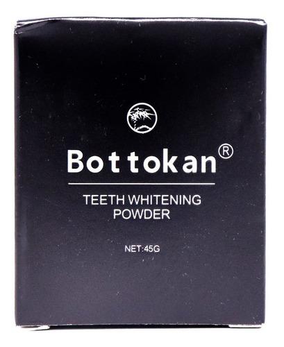 blanqueador de dientes  carbón para dientes bottokan