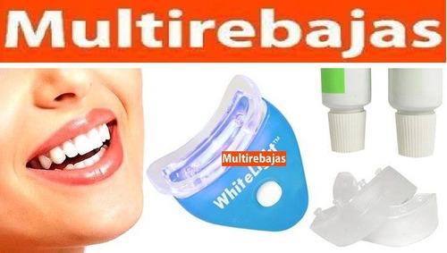 blanqueador de dientes cuidado dental whitelight garantizado