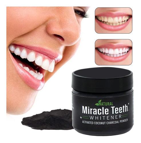 blanqueador de dientes pasta de carbon  natura