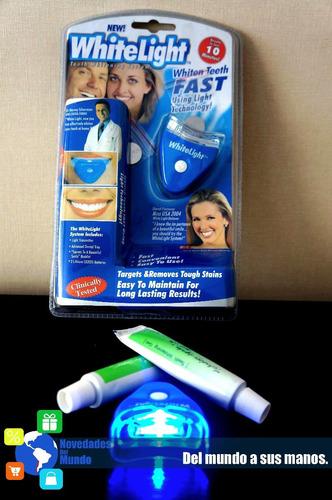 blanqueador de dientes promoción 2x1!