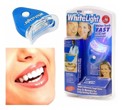 blanqueador dental blanqueamiento dientes white light