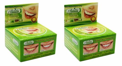 blanqueador dental con perlite mentol y clóuv pack doble
