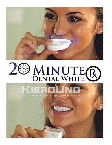 blanqueador dientes led limpieza dientes blancos 20minutos