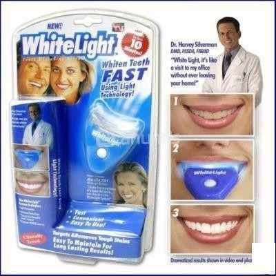 blanqueador white ligth de dientes kit completo full white