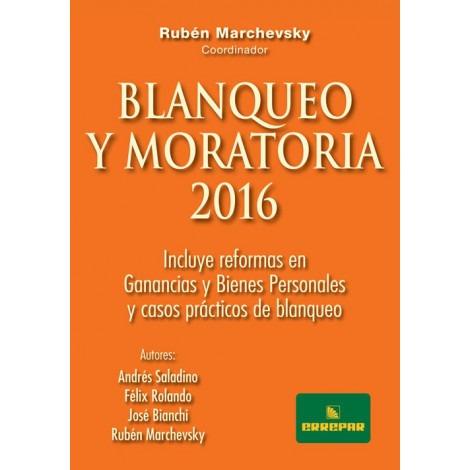 blanqueo y moratoria 2016 - marchevsky