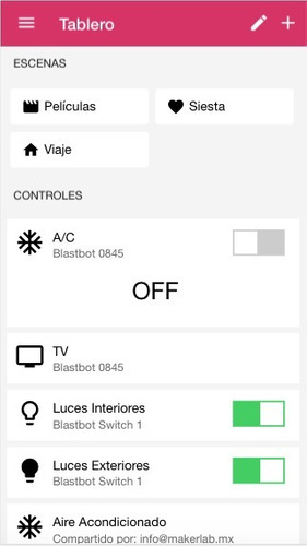 blastbot kit: smart switch + hub (apagador inteligente)