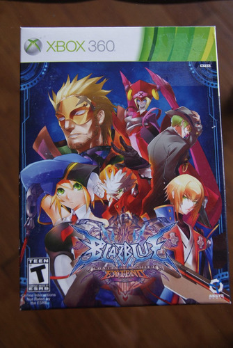 blazblue continum shift extended limited edition xbox360