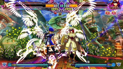 blazblue continuum shift extend ps3 mídia física